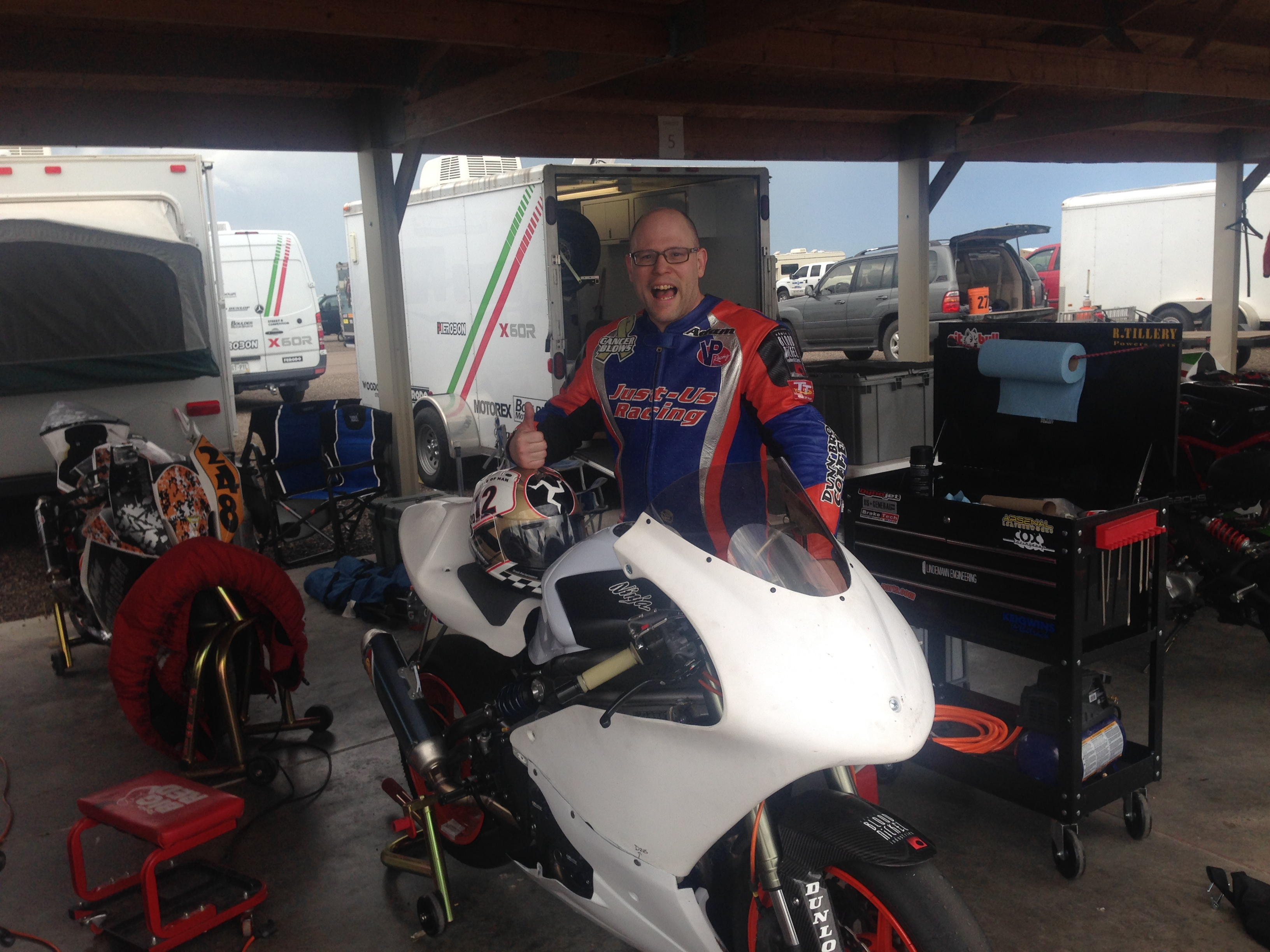 Successful first day on the new Supertwin!